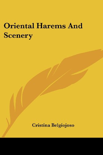 9781430474203: Oriental Harems And Scenery