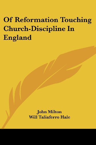 9781430474814: Of Reformation Touching Church-Discipline In England