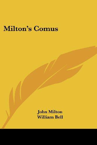 9781430498278: Milton's Comus