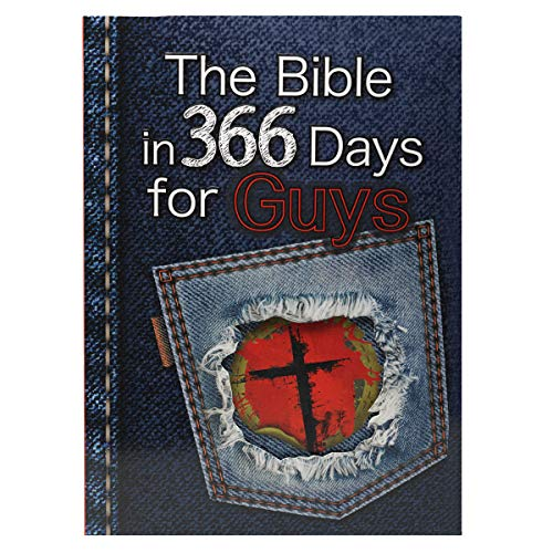 9781432100612: The Bible in 366 Days for Guys