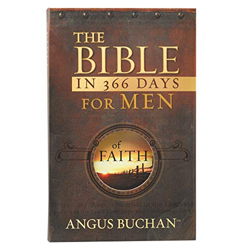 9781432103071: THE BIBLE IN 366 DAYS FOR MEN OF FAITH