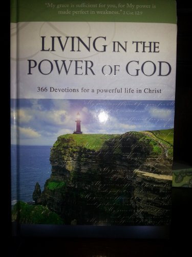Living in the Power of God- 366 Devotions for a Powerful Life in Christ (1432104810) by SOLLY OZROVECH