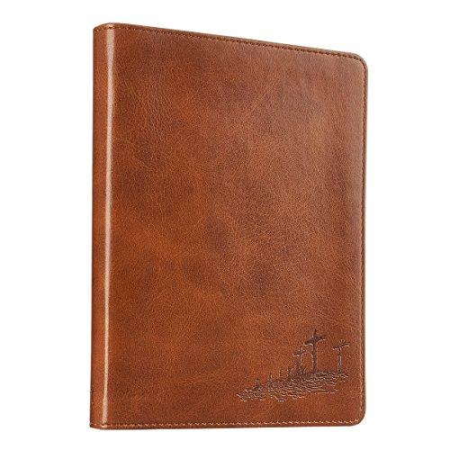 9781432113148: Gospel Saddle Tan Flexcover Journal - John 3:16