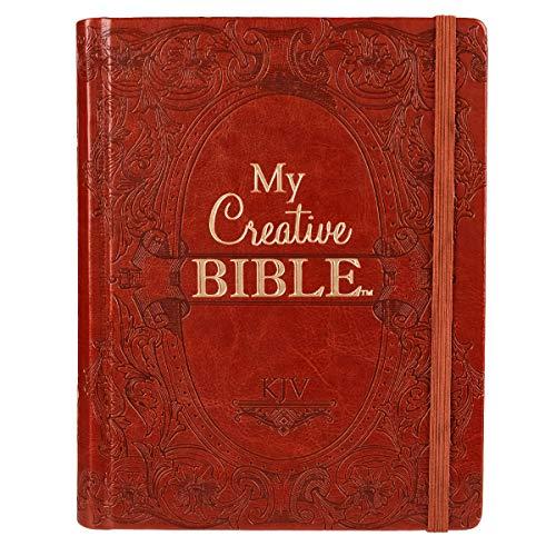 9781432115340: My Creative Bible KJV: Tan Hardcover Bible for Creative Journaling