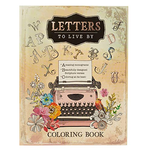 9781432116897: Letters to Live By: An Inspirational Adult Coloring Book
