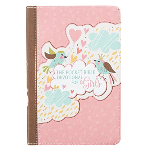 Pocket Bible Devotional Lux-Leather Girls