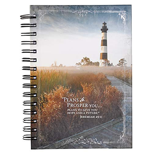 9781432120269: Jeremiah 29:11 Outer Banks Lighthouse Hardcover Wirebound Journal