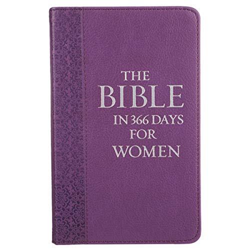 9781432121969: The Bible in 366 Days for Women (LuxLeather)