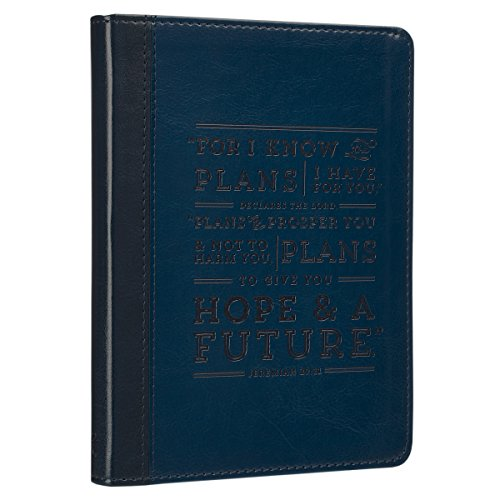 9781432122195: Journal Lux-Leather Blue I Know the Plans