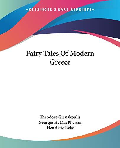 9781432516550: Fairy Tales Of Modern Greece