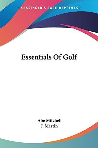 9781432558420: Essentials Of Golf