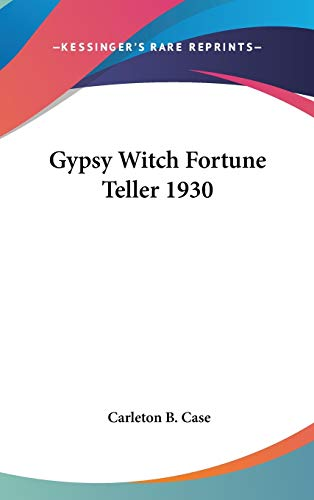 9781432603199: Gypsy Witch Fortune Teller 1930