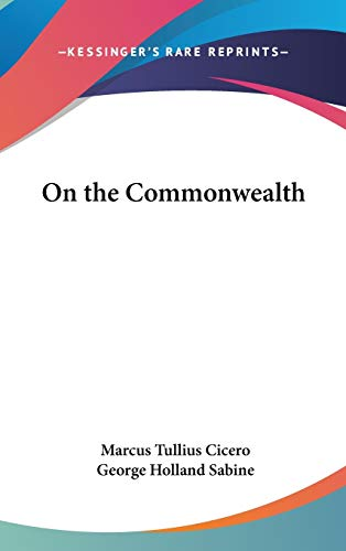 9781432610241: On the Commonwealth