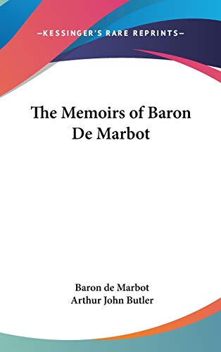 9781432626693: The Memoirs of Baron De Marbot