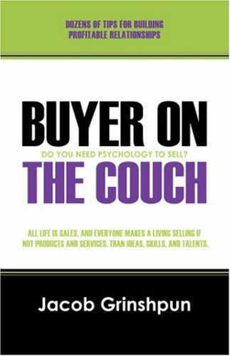9781432716189: Buyer on the Couch: Do You Need to Be a Psychologist to Sell?