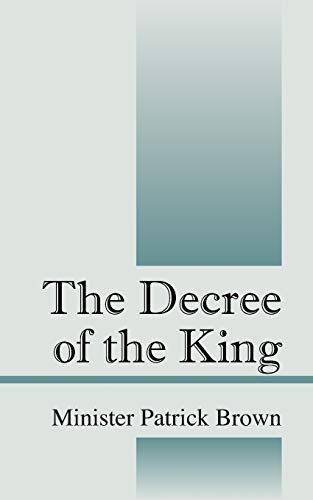 9781432785611: The Decree of the King