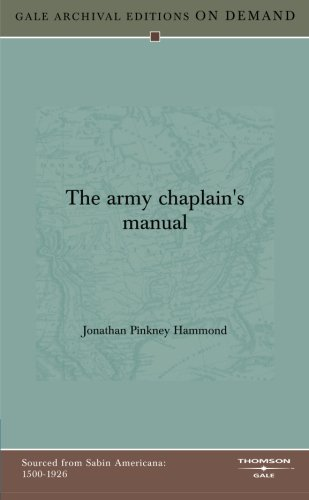 9781432802547: The Army Chaplain's Manual