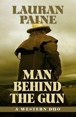 9781432825614: Man Behind the Gun: A Western Duo (Five Star Western Series)