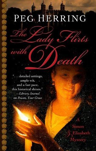 9781432827120: The Lady Flirts with Death (Five Star Mystery Series) (A Simon & Elizabeth Mystery)