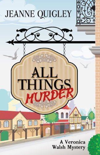9781432828127: All Things Murder (Five Star Mystery Series) (Veronica Walsh Mystery)