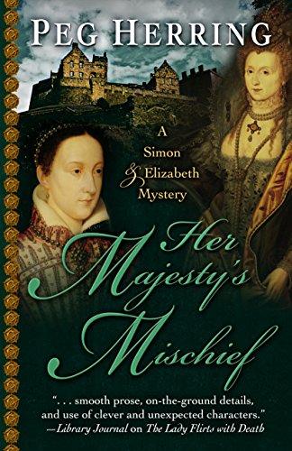 9781432830700: Her Majesty's Mischief (A Simon & Elizabeth Mystery)