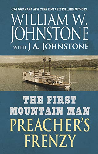 Book Cover: The First Mountain Man: Preacher's Frenzy