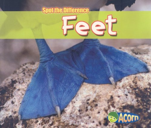 Feet (Spot the Difference): Diyan Leake