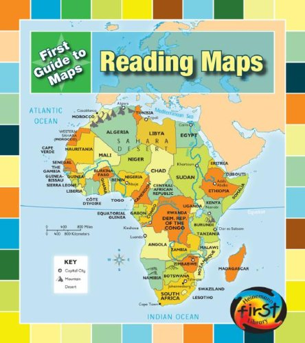 9781432907921: Reading Maps (First Guides to Maps)