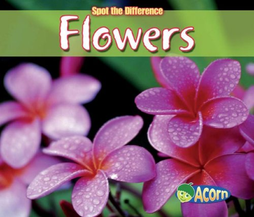 9781432909451: Flowers (Spot the Difference: Plants)
