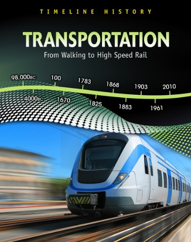 9781432938048: Transportation: From Walking to High-Speed Rail (Timeline History)