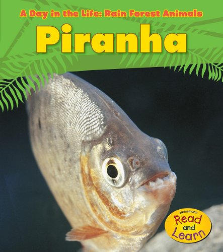 Piranha (A Day in the Life: Rain Forest Animals) (9781432941192) by Ganeri, Anita