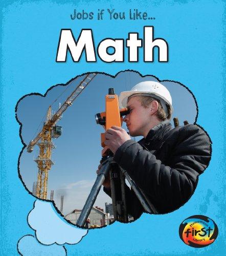 Math (Jobs If You Like.): Charlotte Guillain