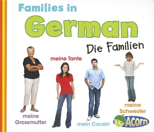 9781432971816: Families in German: Die Familien (World Languages - Families) (Multilingual Edition)