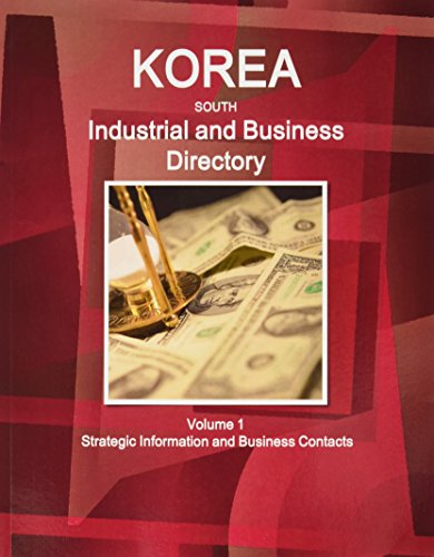 9781433028199: Korea, South Industrial and Business Directory