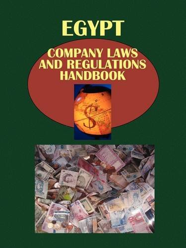 9781433069765: Egypt Company Laws and Regulations Handbook (World Law Business Library)