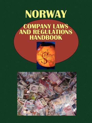 9781433070440: Norway Company Laws and Regulations Handbook (World Law Business Library)