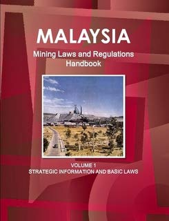 9781433077814: Malaysia Mining Laws and Regulations Handbook: Strategic Information and Mining Law