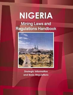 9781433077999: Nigeria Mining Laws and Regulations Handbook (World Law Business Library)