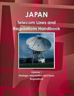 9781433081989: Japan Telecom Laws and Regulations Handbook (World Law Business Library)