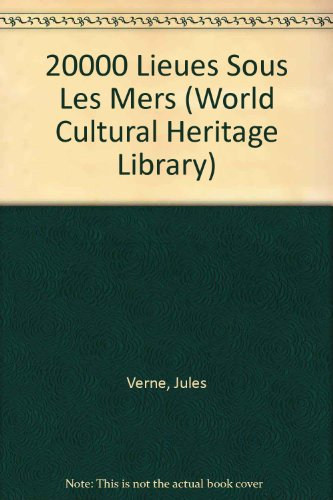 9781433088254: 20000 Lieues Sous Les Mers (World Cultural Heritage Library)