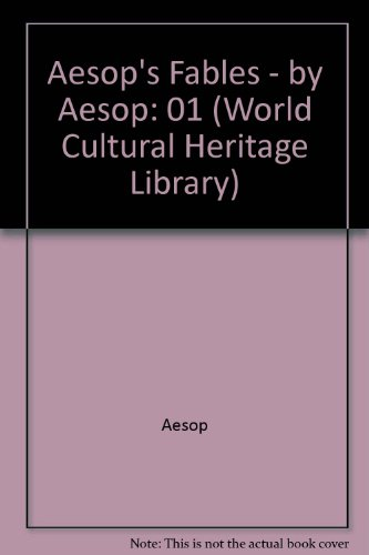 9781433090868: Aesop's Fables - by Aesop (World Cultural Heritage Library)