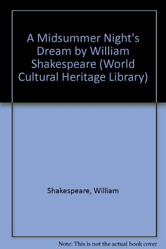 9781433098659: A Midsummer Night's Dream by William Shakespeare (World Cultural Heritage Library)