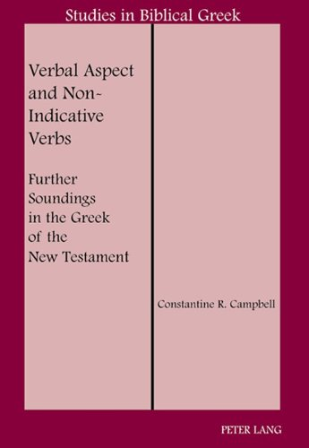 9781433102998: Verbal Aspect and Non-Indicative Verbs (Studies in Biblical Greek)