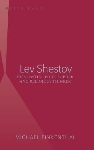 Lev Shestov: Michael Finkenthal