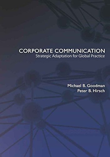 9781433106217: Corporate Communication: Strategic Adaptation for Global Practice