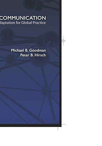 9781433106224: Corporate Communication: Strategic Adaptation for Global Practice