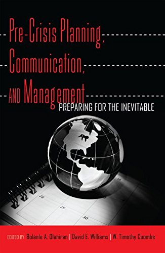 9781433111358: Pre-Crisis Planning, Communication, and Management: Preparing for the Inevitable