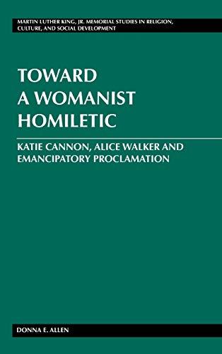 Toward a Womanist Homiletic: Donna E. Allen