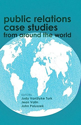 9781433123474: Public relations case studies from around the world