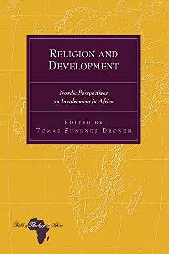 Religion and Development: Tomas Sundnes Drønen